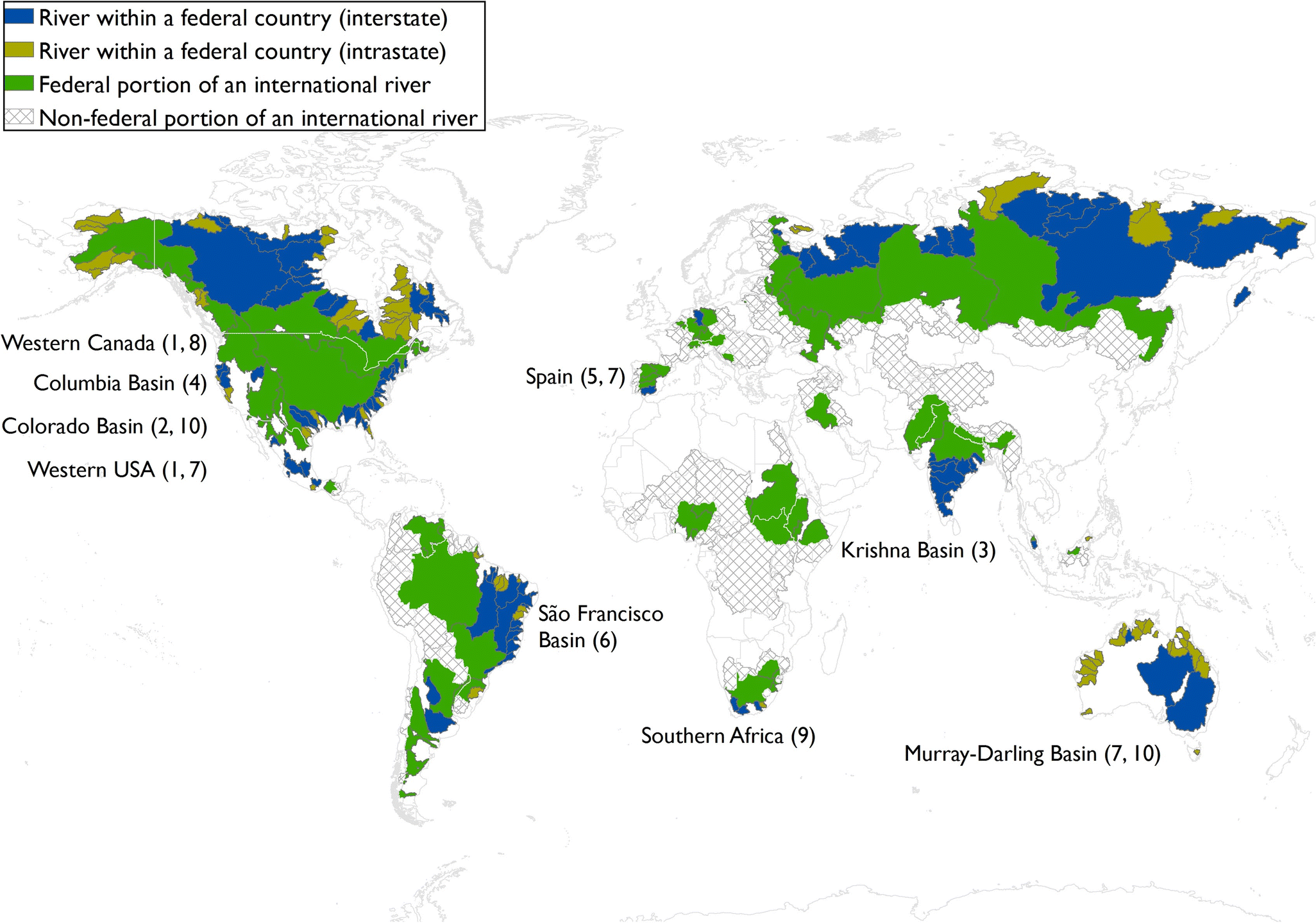 Governing water in federal river basins | SpringerLink