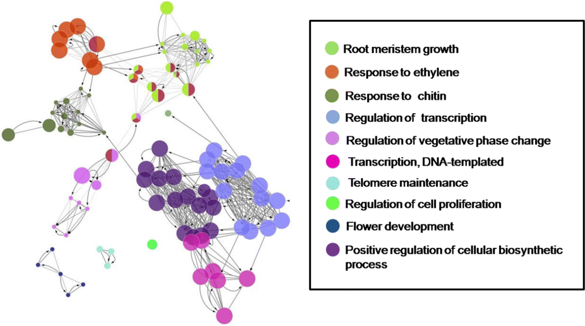 Gene network modules associated with abiotic stress response