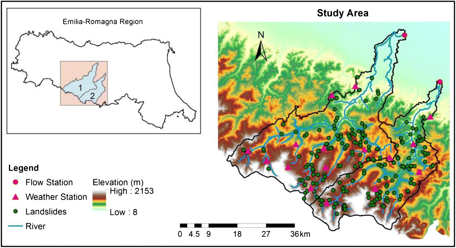 Application of hydrological model simulations in landslide ...