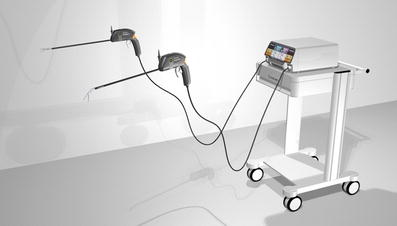 Handheld articulating laparoscopic instruments driven by