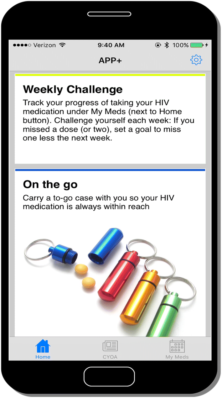 A Pilot Study of a Mobile App to Support HIV Antiretroviral Therapy