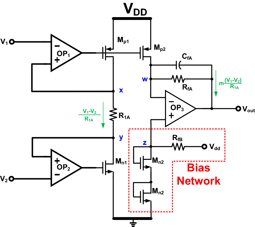 A Novel High Cmrr Trans Impedance Instrumentation Amplifier For Proposed Transimpedance Schematic Fig 4 Ia