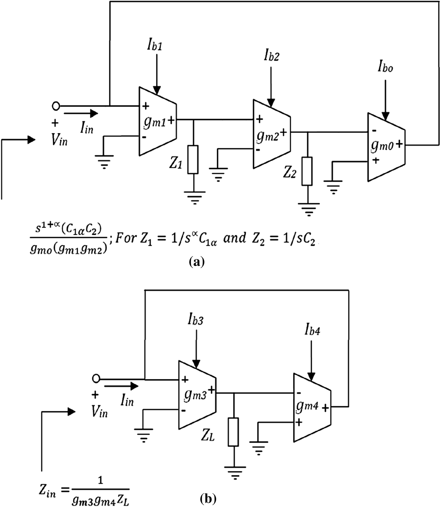 Realization Of A Higher Fractional Order Element Based On Novel Ota Voltage Controlled Low Pass Filter With Lm13600 Circuit Schematic Open Image In New Window