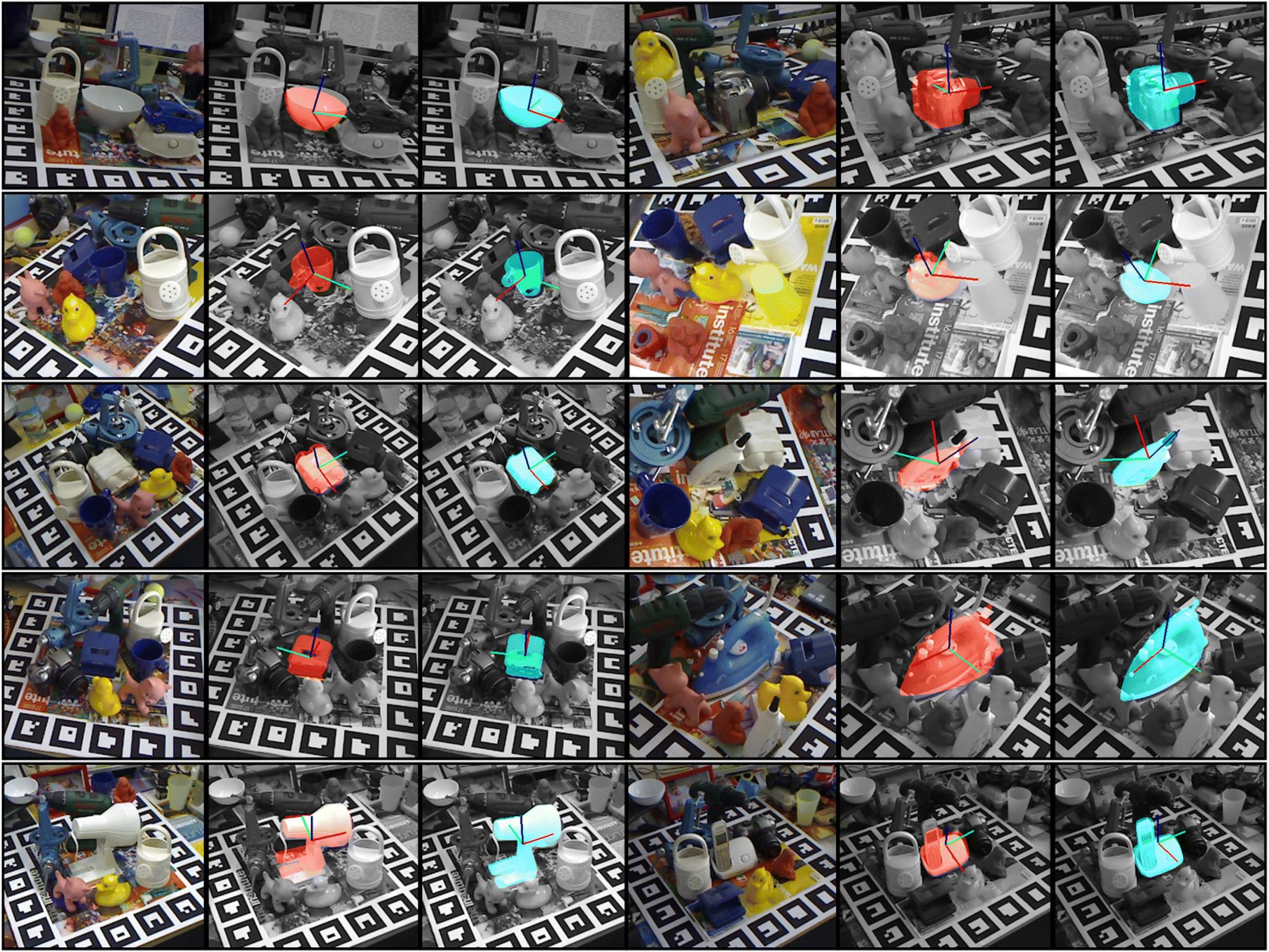 Fast 6D object pose refinement in depth images | SpringerLink