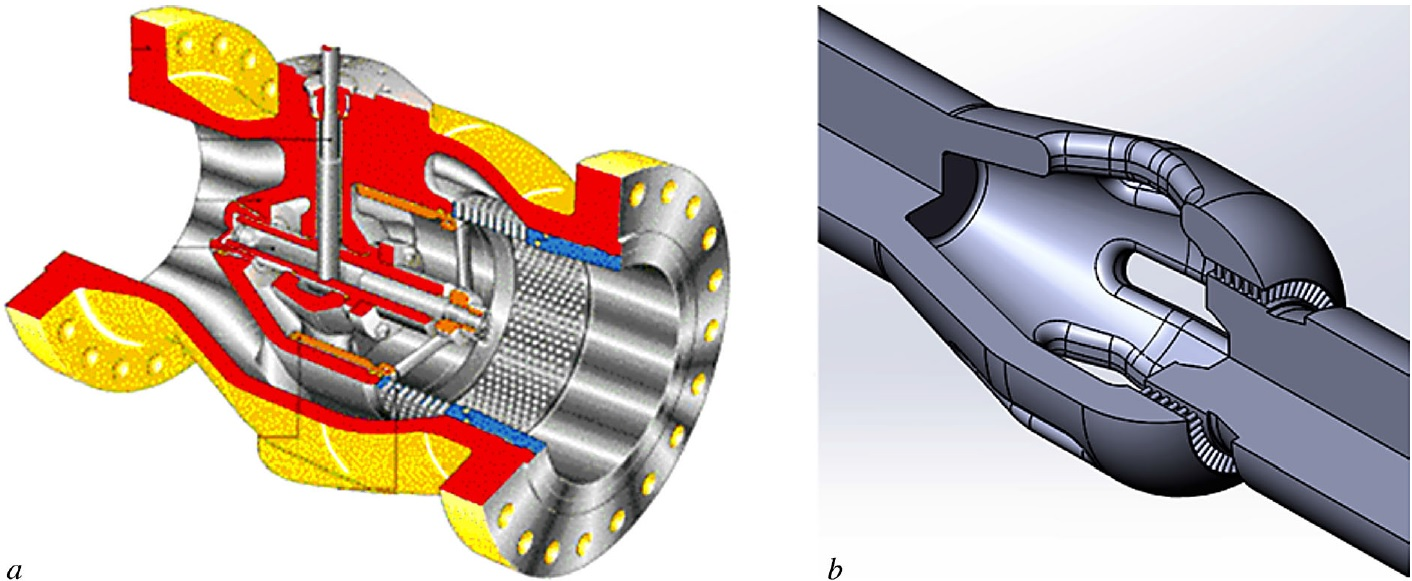 Simulation of Gas Flow in an Anti-Surge Valve by the ANSYS