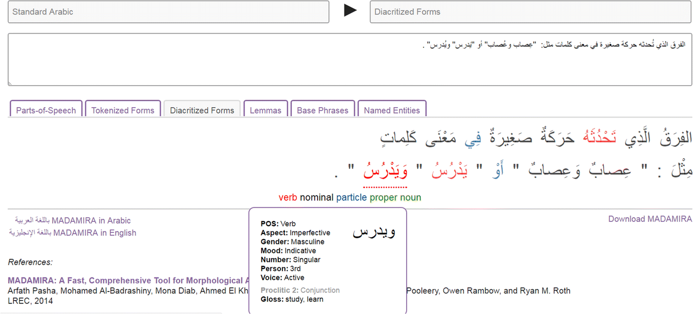 Restoring Arabic vowels through omission-tolerant dictionary lookup