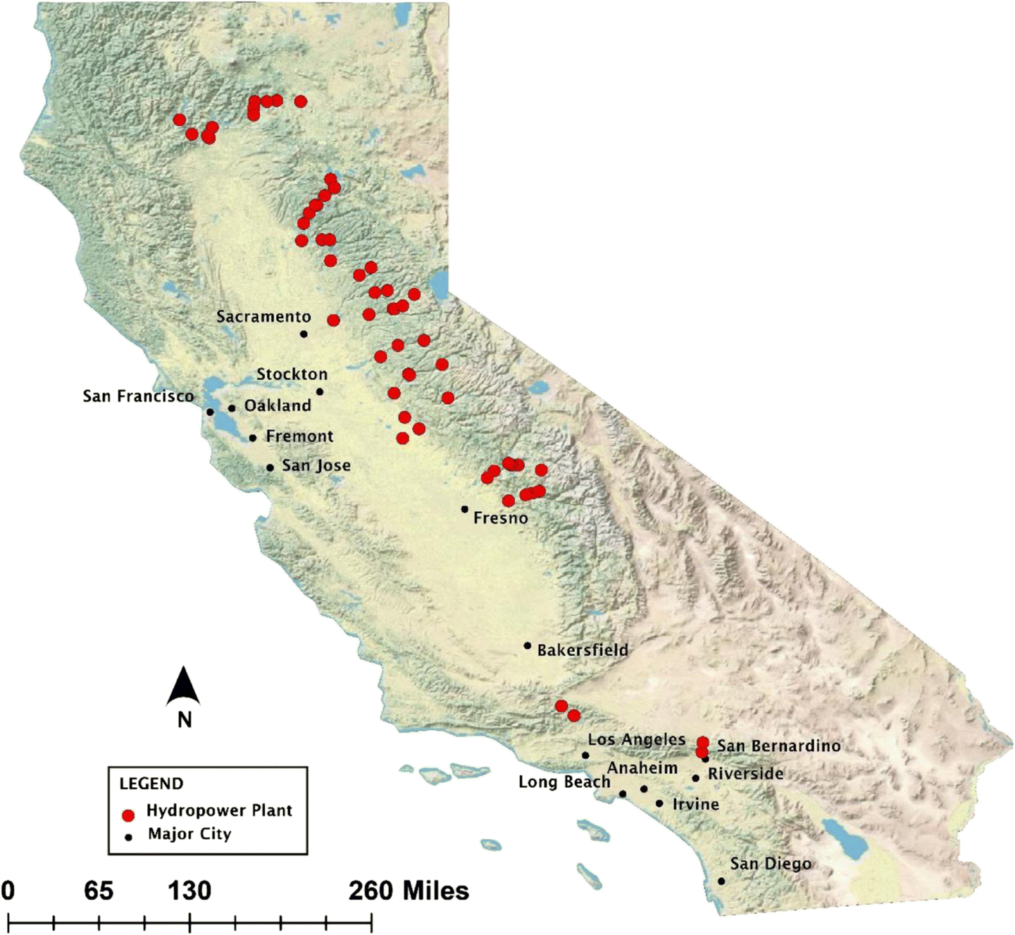 Assessing climate change impacts on California hydropower