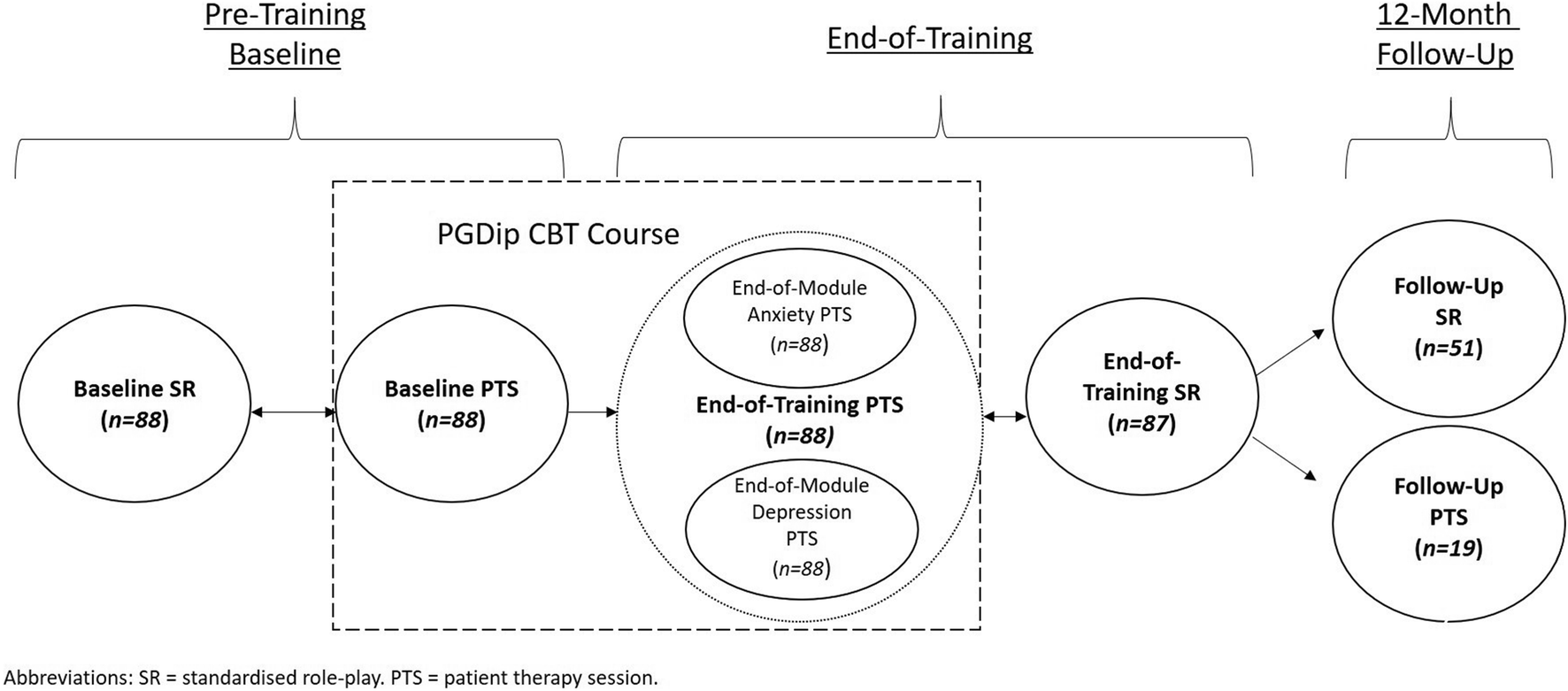 Evaluating CBT Clinical Competence with Standardised Role Plays and