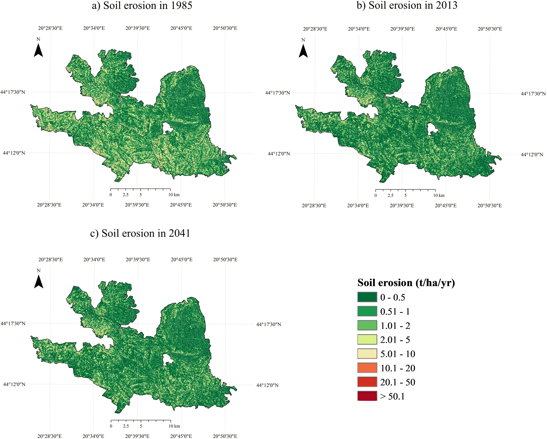 Spatio-temporal analysis of land use/land cover change and its