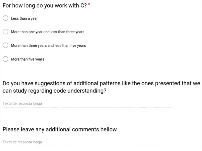 An investigation of misunderstanding code patterns in C open