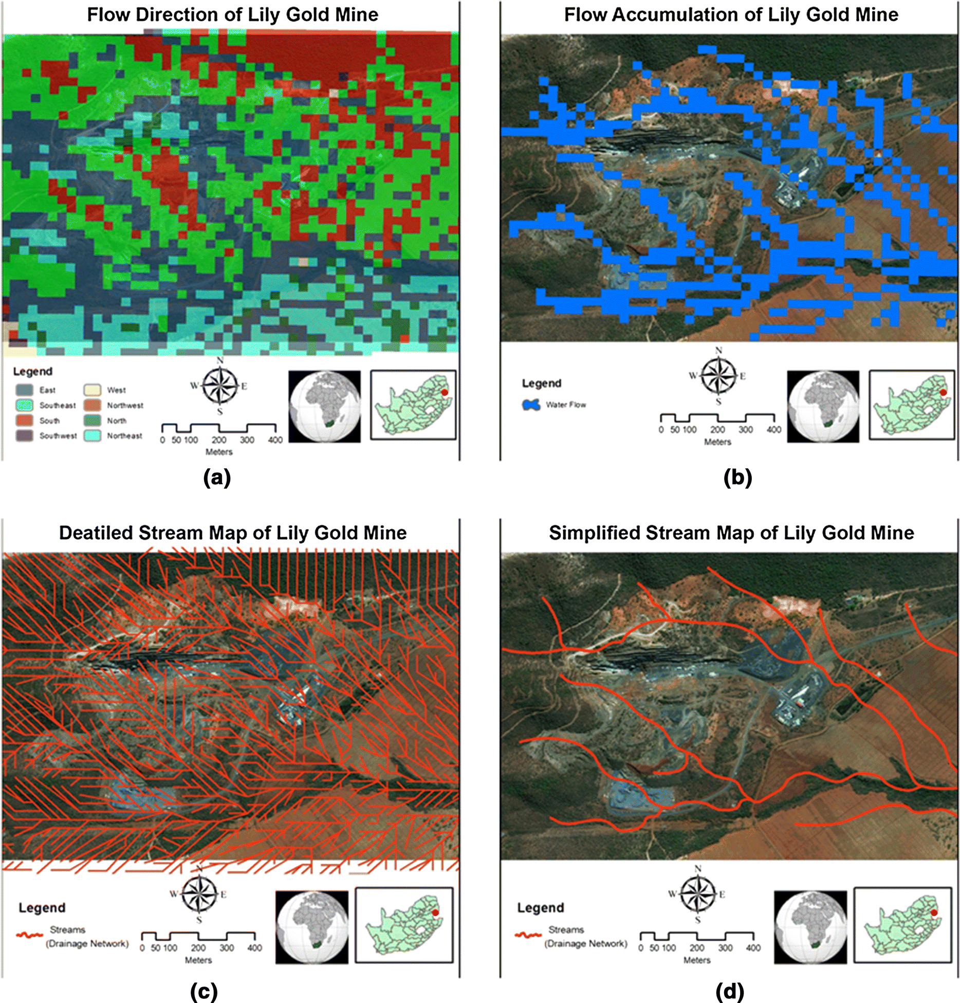 Modeling and analysis of Lily gold mine disasters using