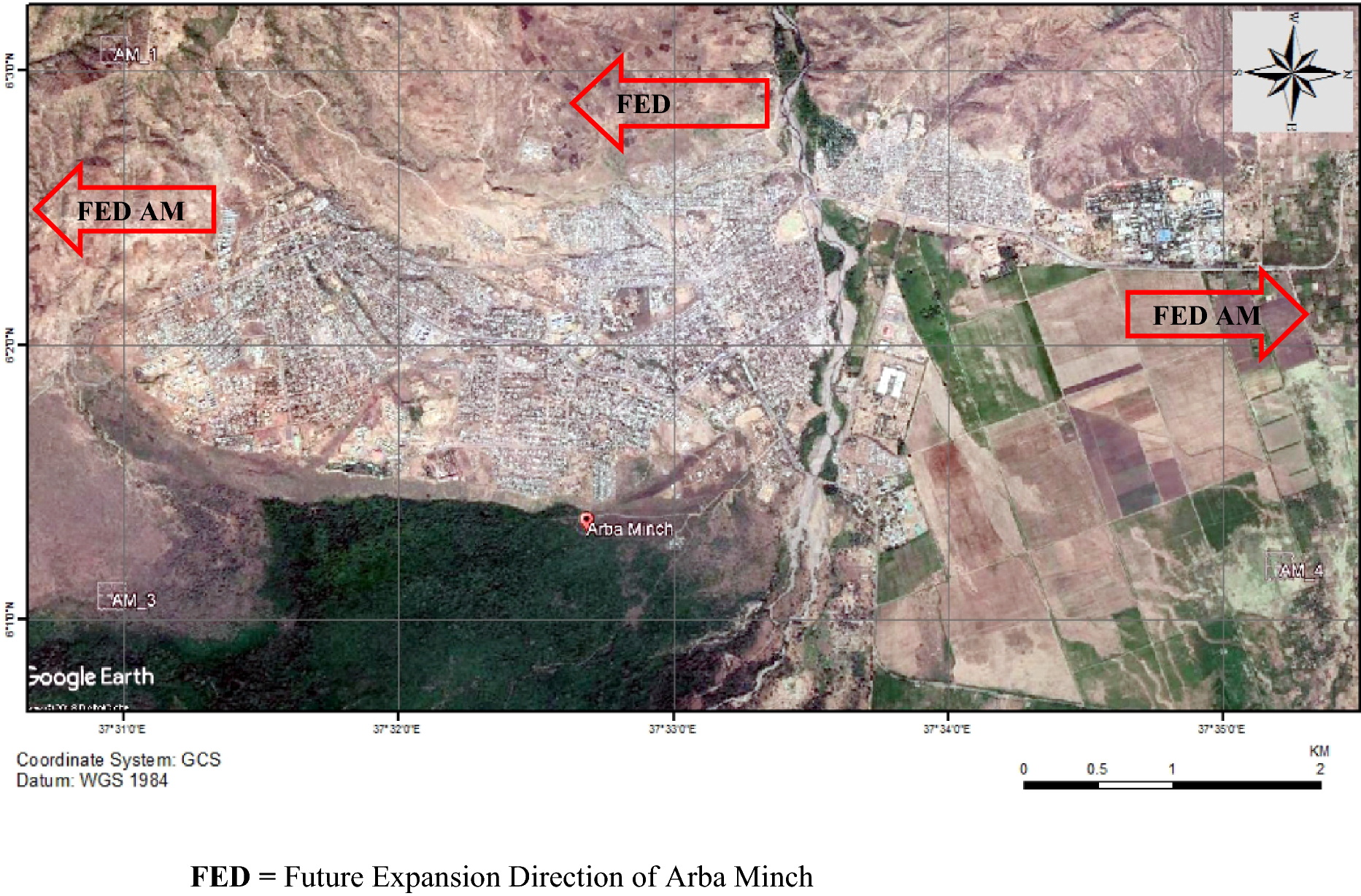 Urbanization and land use pattern in Arba Minch town