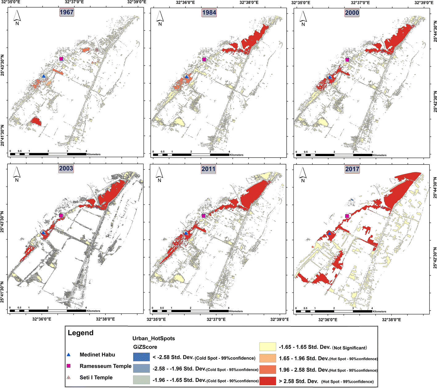 Management of Cultural Heritage Sites Using Remote Sensing Indices