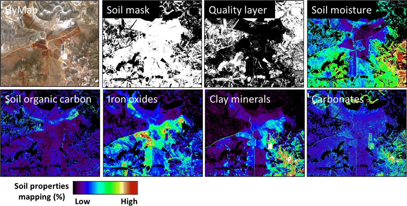 7e4839e8318 Imaging Spectroscopy for Soil Mapping and Monitoring | SpringerLink