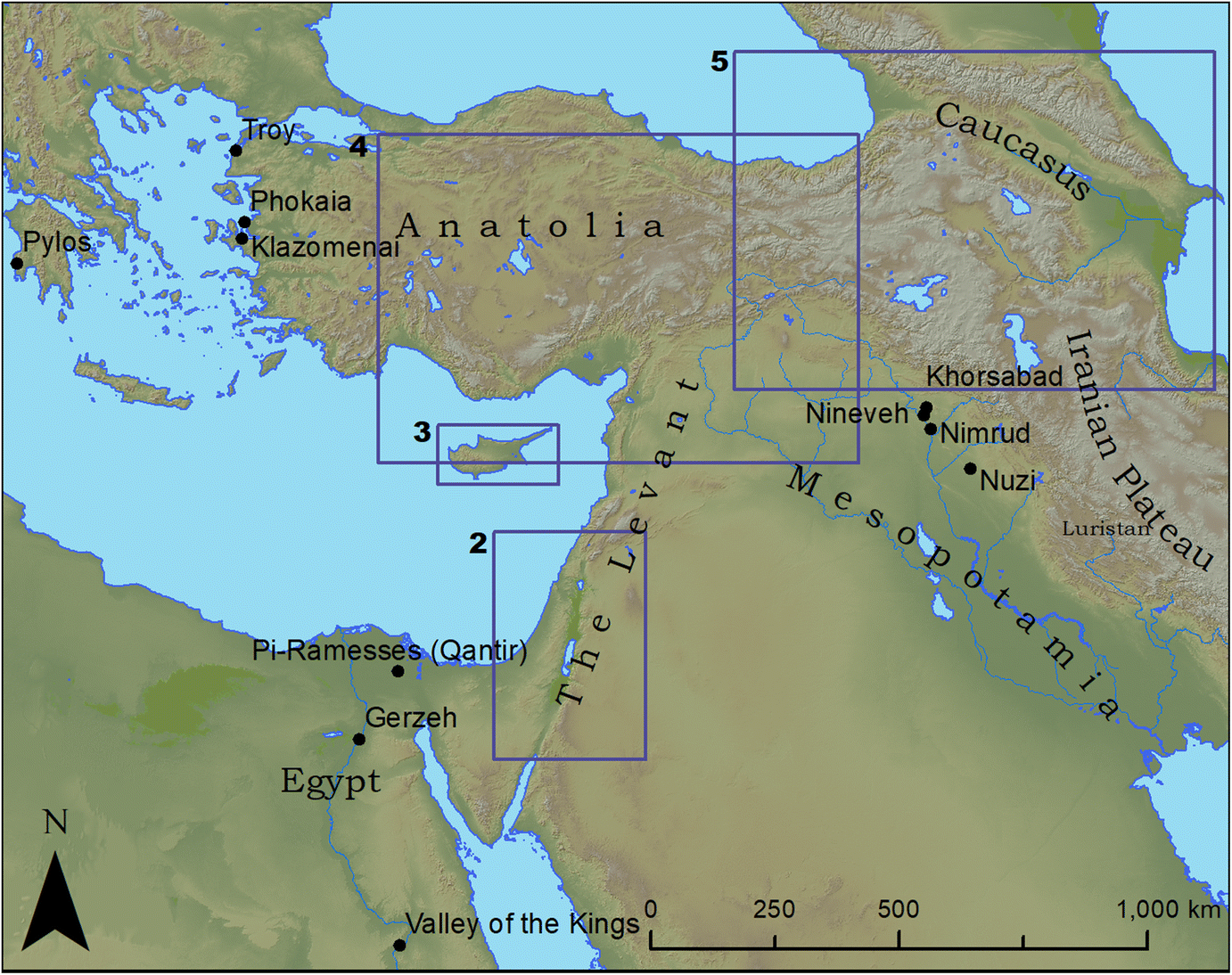 The Innovation and Adoption of Iron in the Ancient Near East