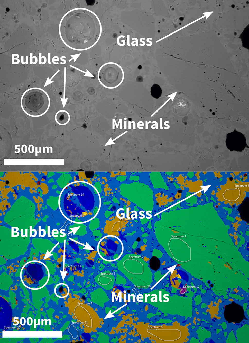 Manufacture of glass and mirrors from lunar regolith