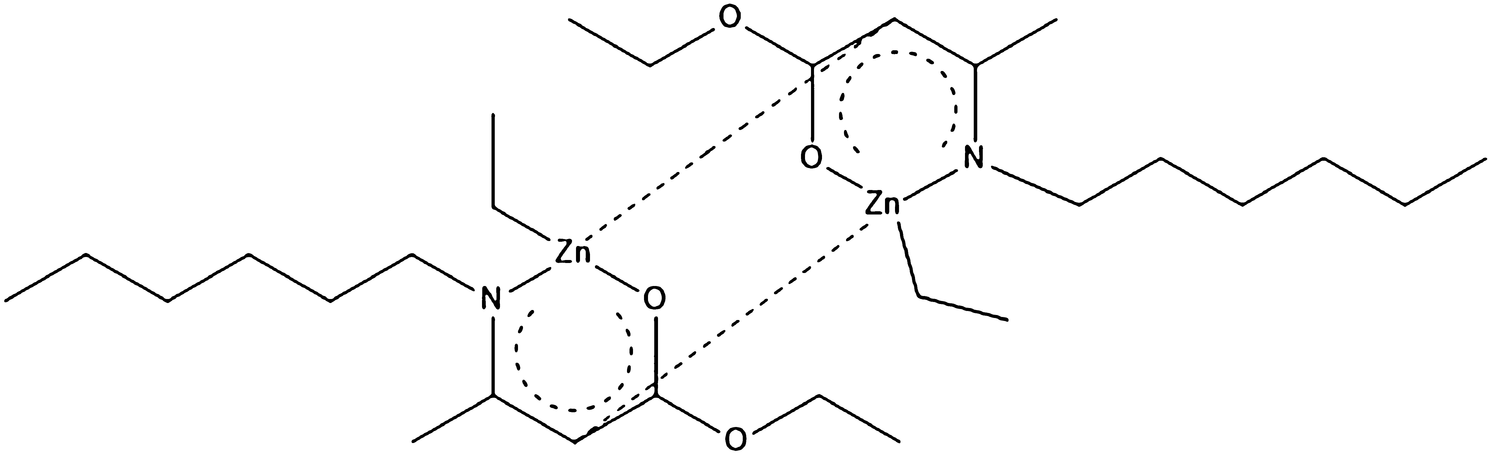 Synthesis And Structural Characterization Of Enaminoester Zinc