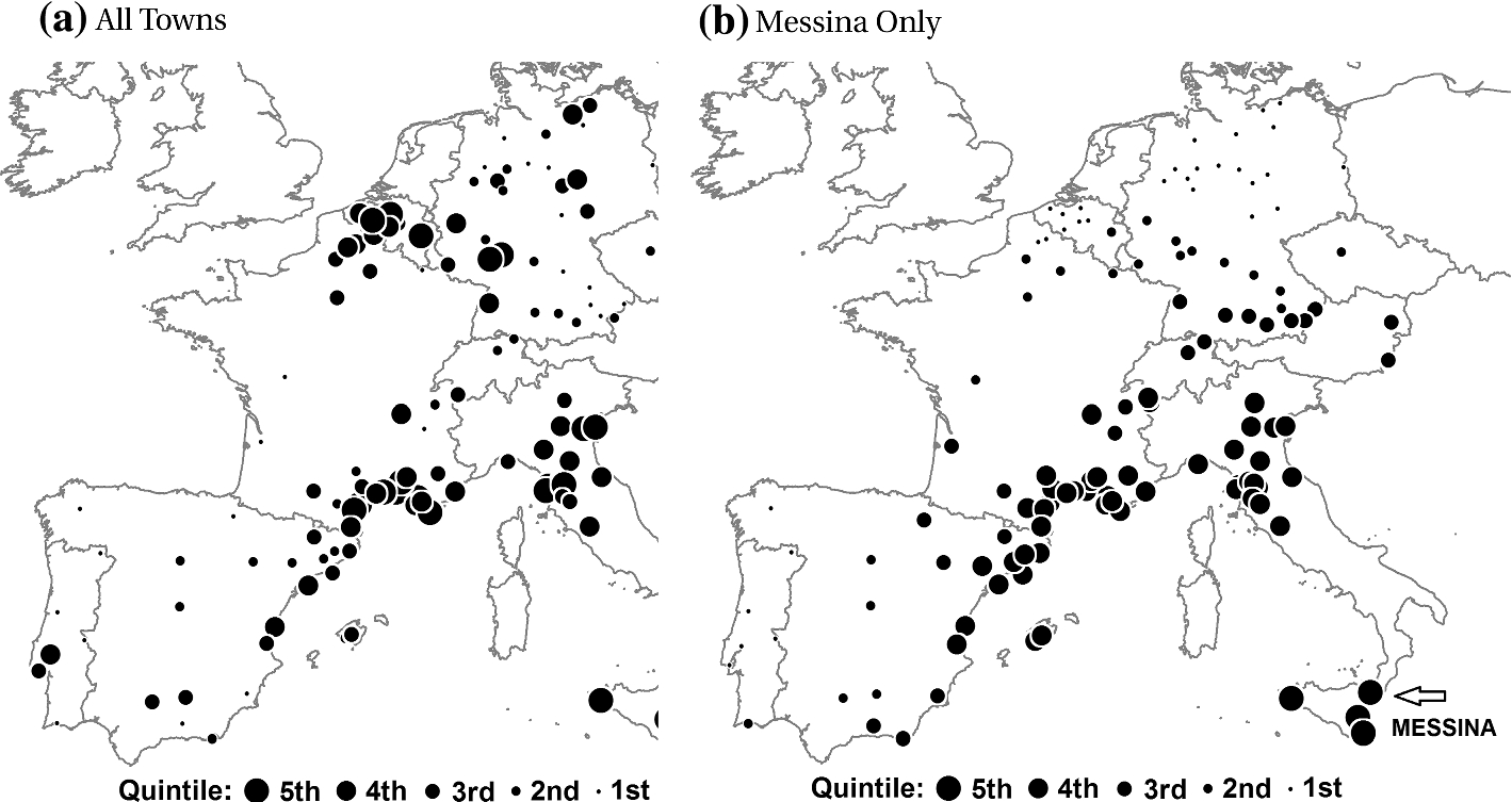 Negative shocks and mass persecutions: evidence from the Black Death