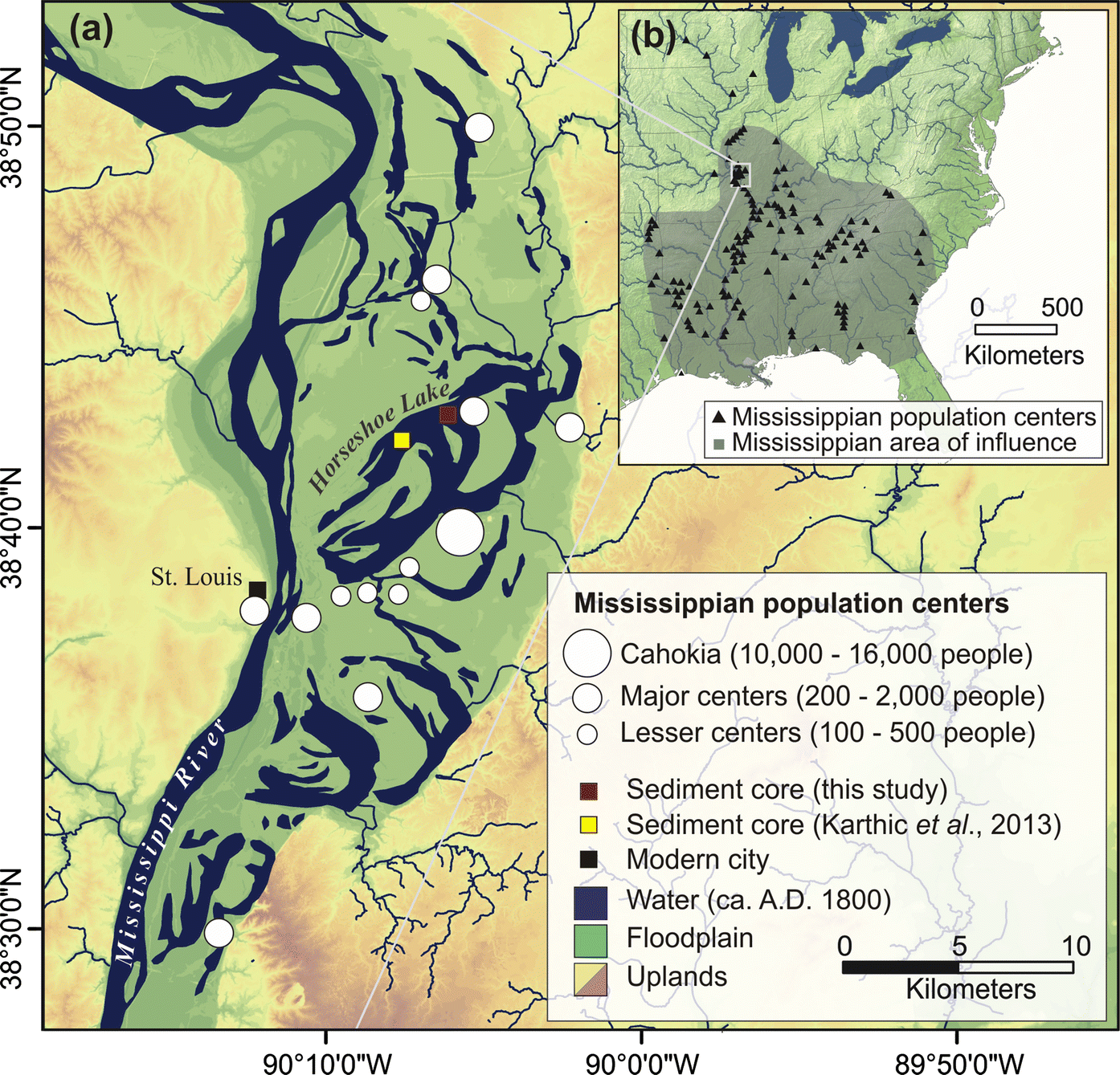 A 1600 Year Record Of Human Impacts On Floodplain Lake In The