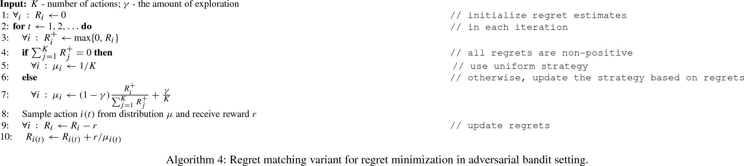 Analysis of Hannan consistent selection for Monte Carlo tree