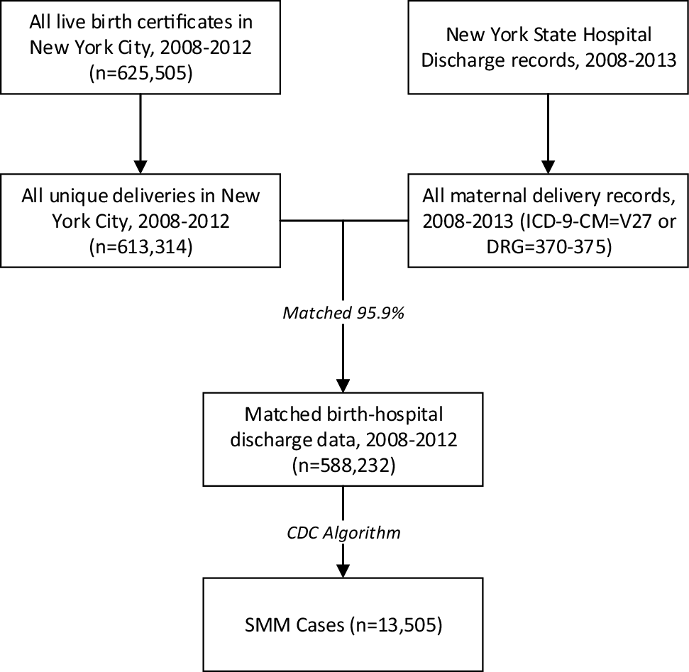 Determinants of Severe Maternal Morbidity and Its Racial/Ethnic