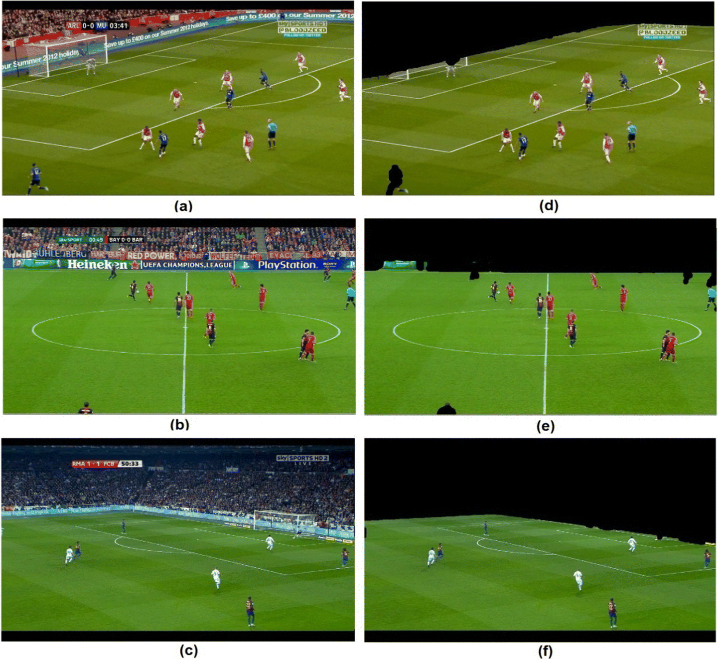 Exposing forgeries in soccer images using geometric clues | SpringerLink