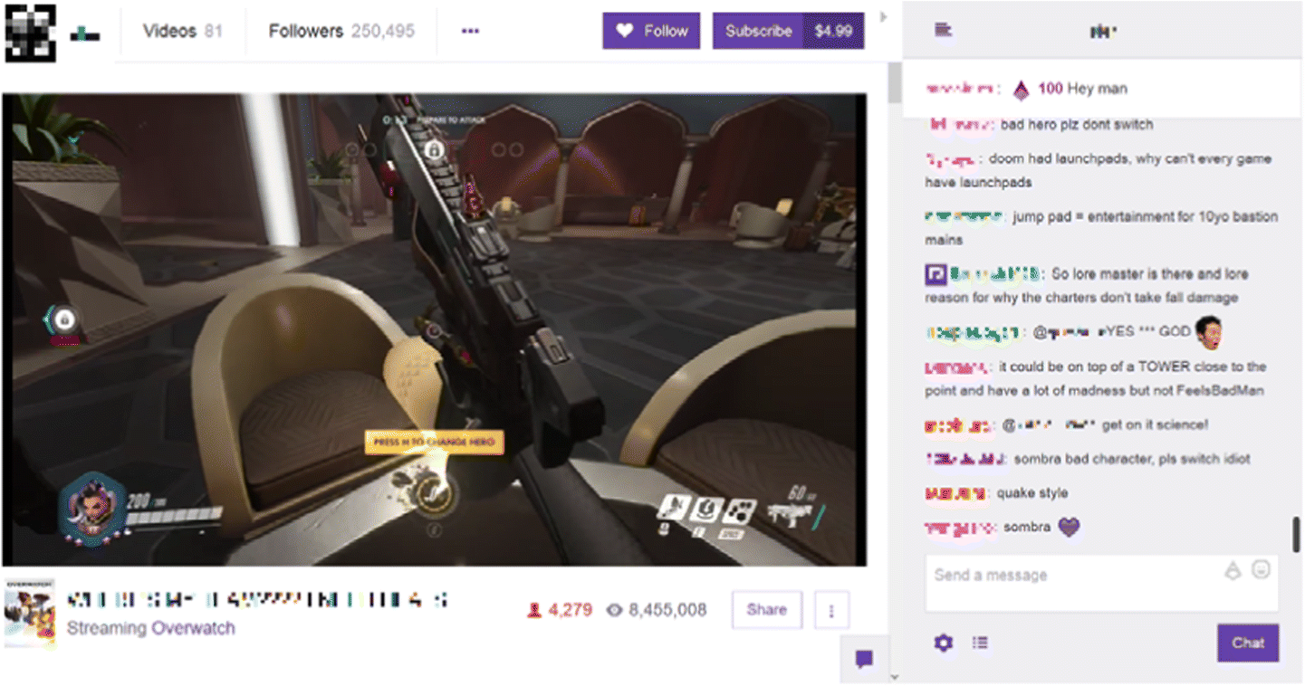 Personalized channel recommendation on live streaming