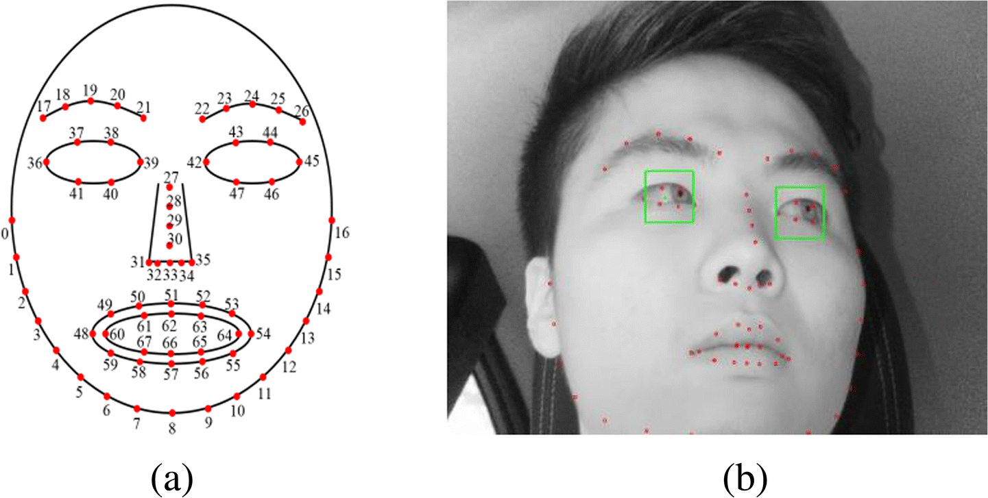 Driver's eye-based gaze tracking system by one-point