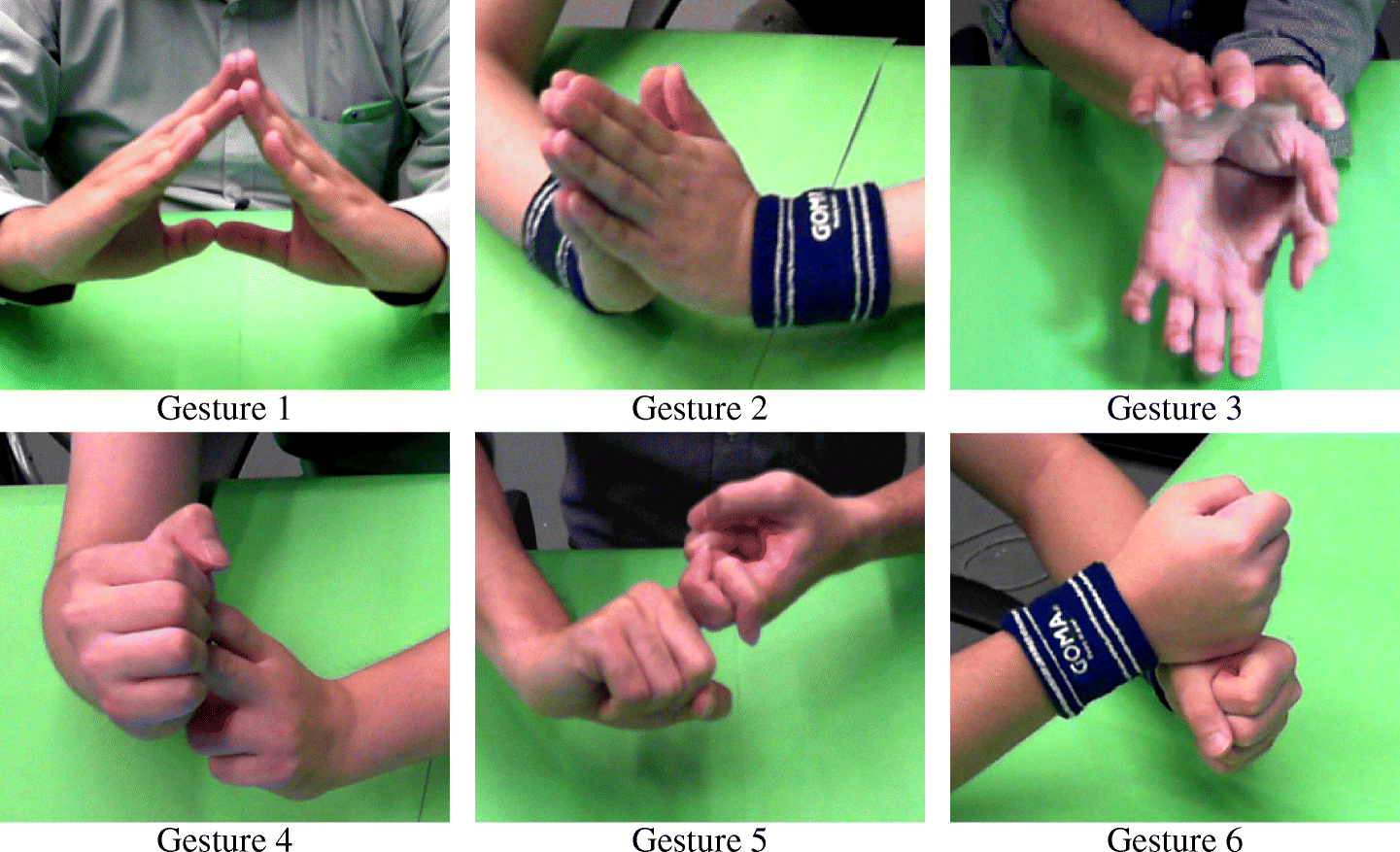 Occlusion-robust bimanual gesture recognition by fusing multi-views