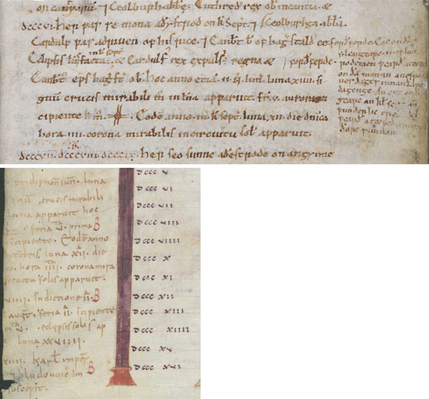 The Celestial Sign in the Anglo-Saxon Chronicle in the 770s