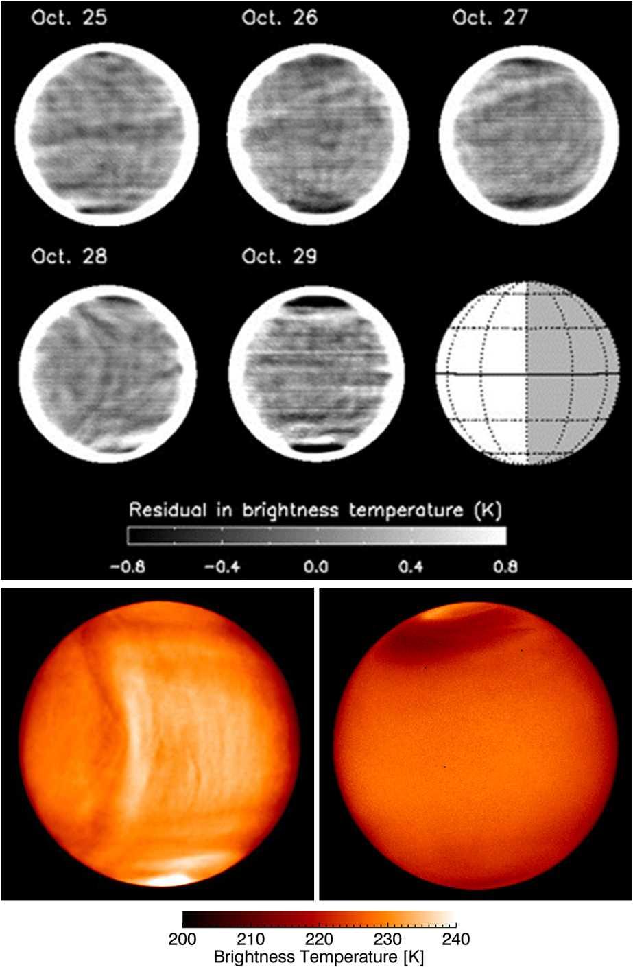 Venus Atmospheric Thermal Structure and Radiative Balance ... on temperature of planets, venus cloud map, temperature on venus in fahrenheit,