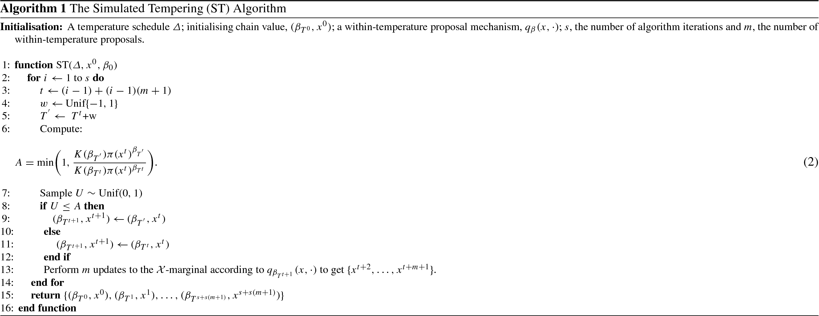 Weight-preserving simulated tempering   SpringerLink