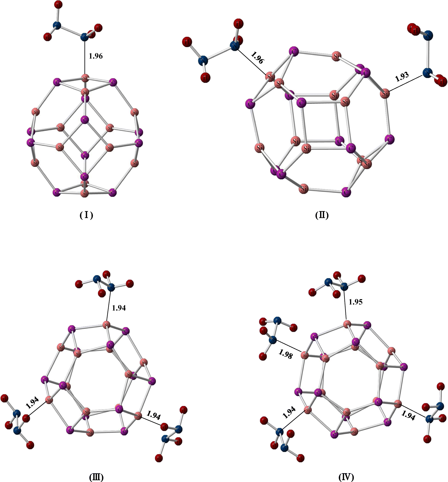 Hydrazine trapping ability of Si12C12 fullerene-like nanoclusters: a