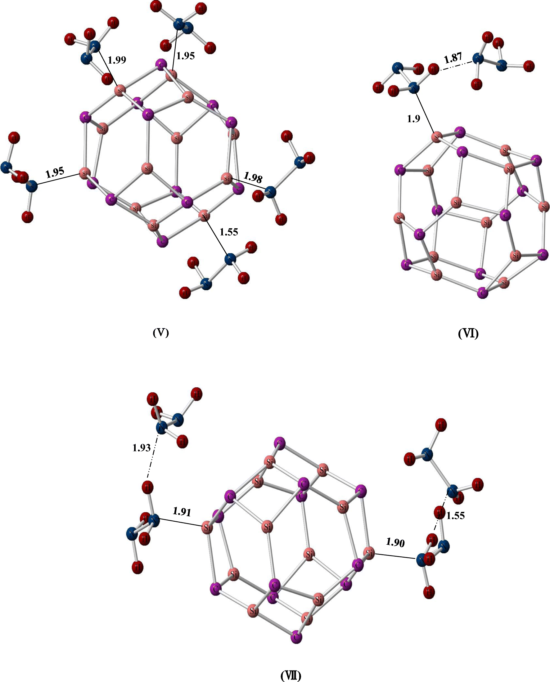 Hydrazine trapping ability of Si12C12 fullerene-like