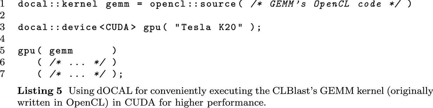dOCAL: high-level distributed programming with OpenCL and
