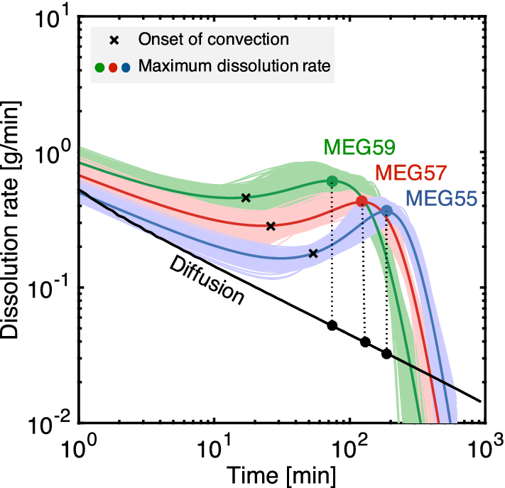 Multidimensional Observations Of Dissolution Driven Convection In