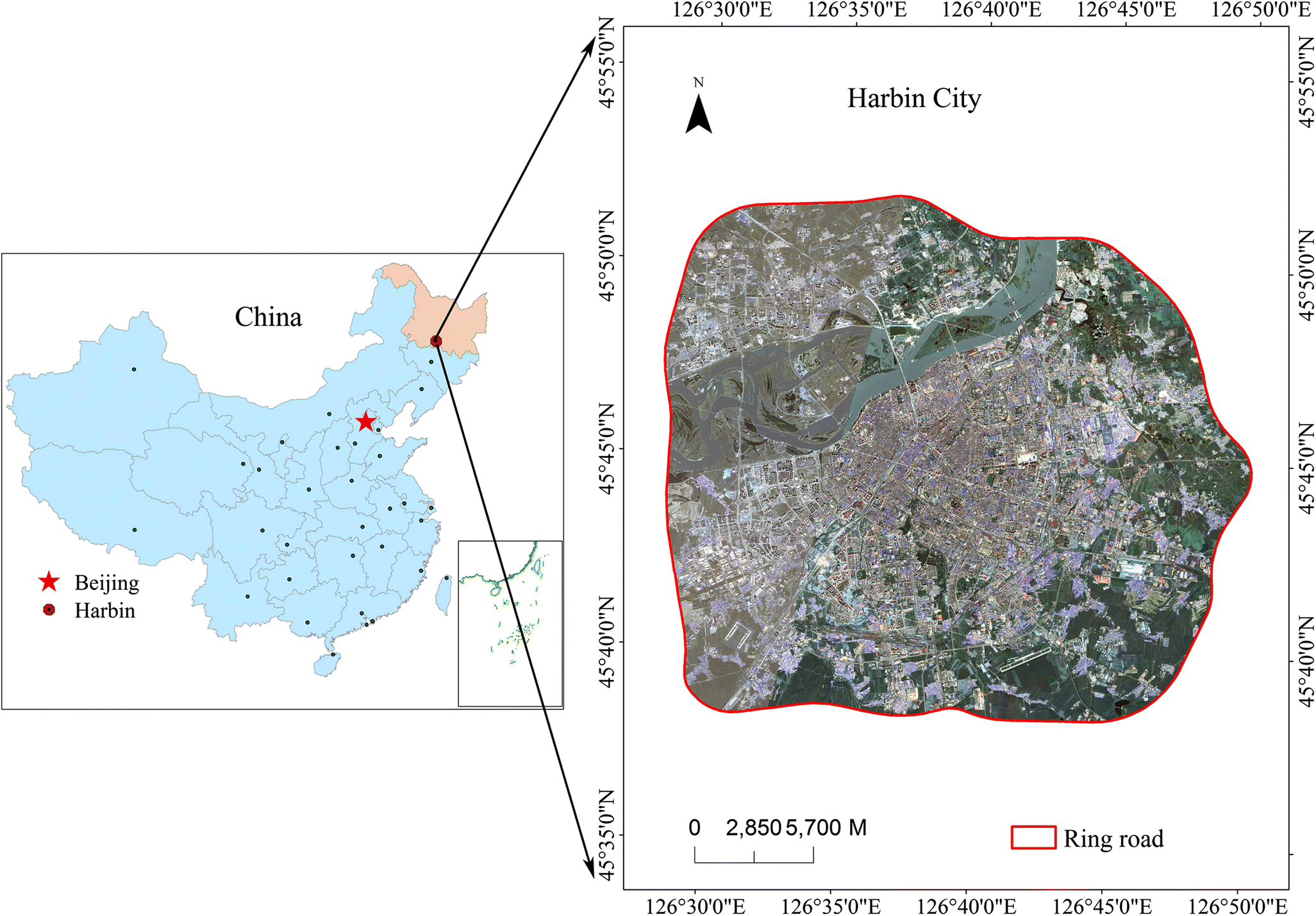 Perimeter-area ratio effects of urbanization intensity on ... on