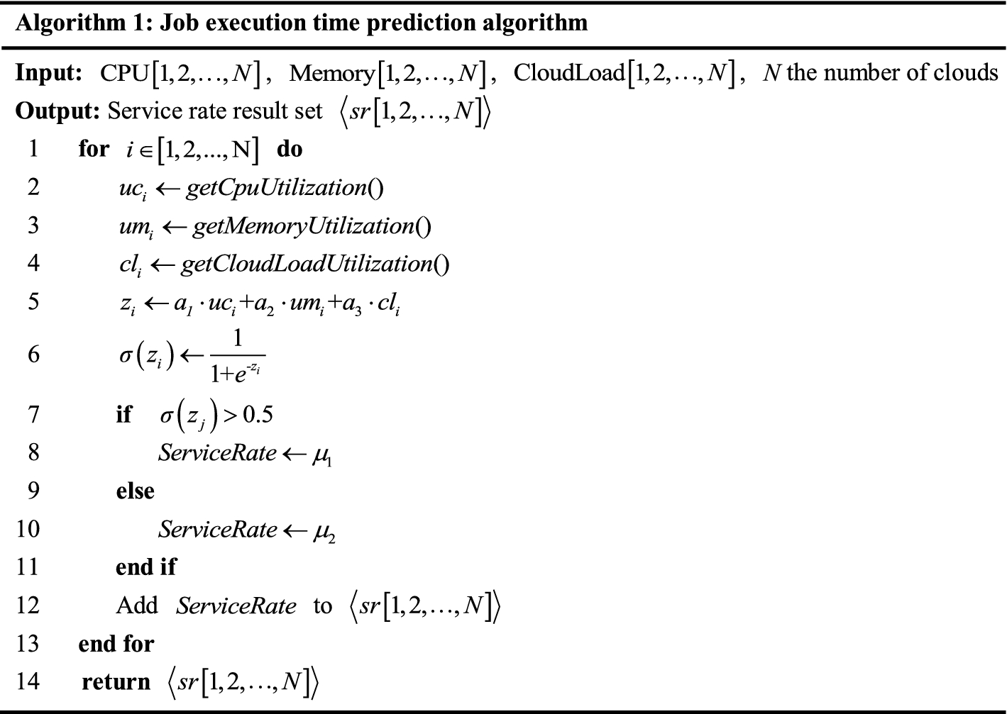 Load Balance Based Job Scheduling in Geo-Distributed Clouds
