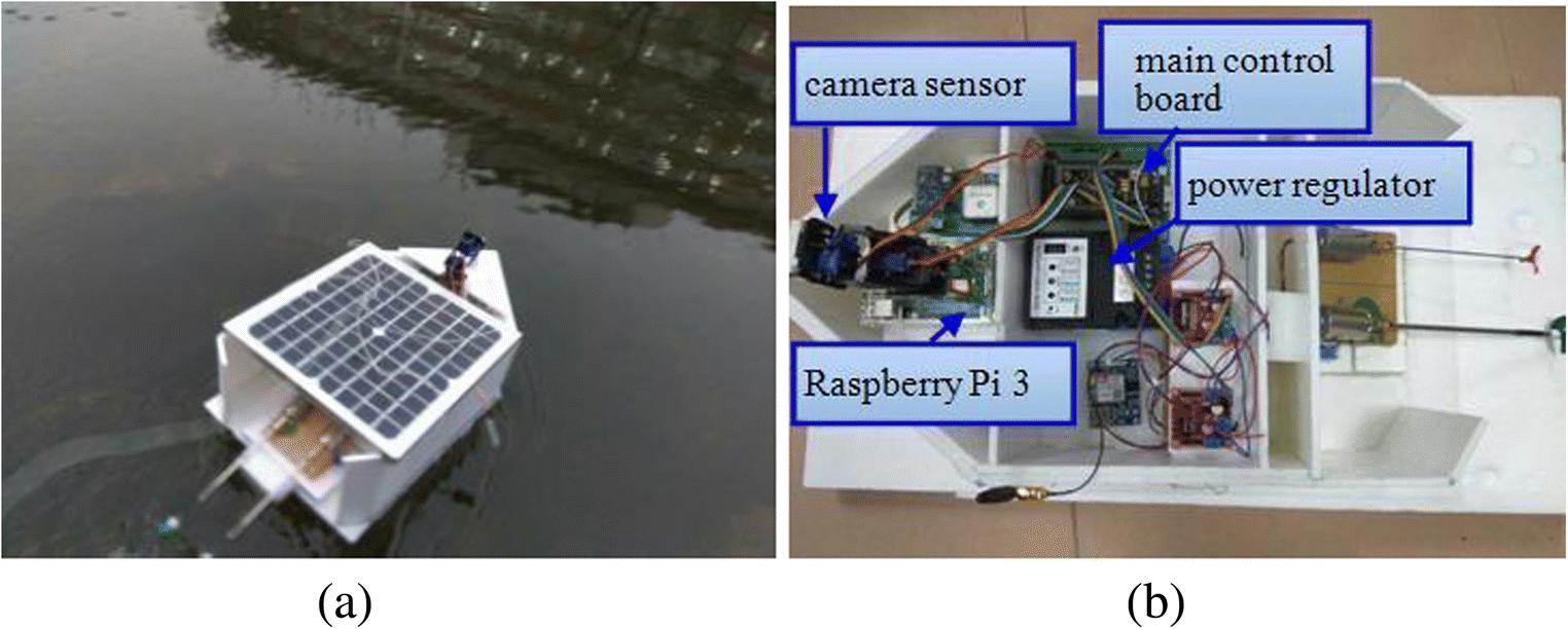 Camera sensor-based contamination detection for water