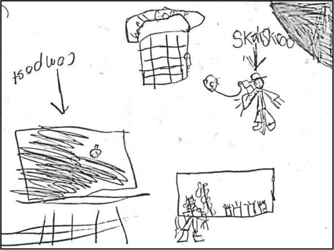 Gathering, interpreting, and positioning children's