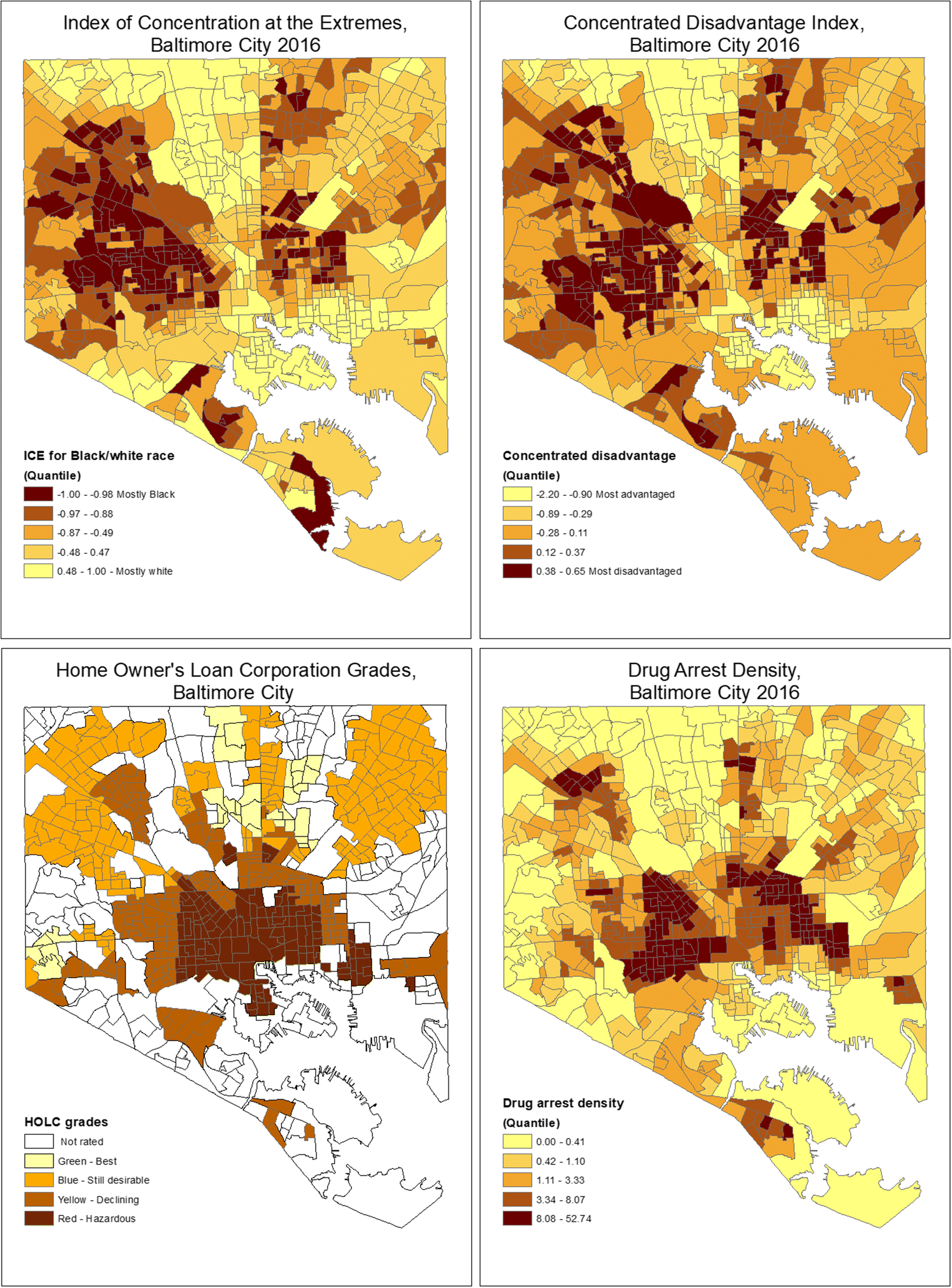Alcohol Outlet Clusters and Population Disparities