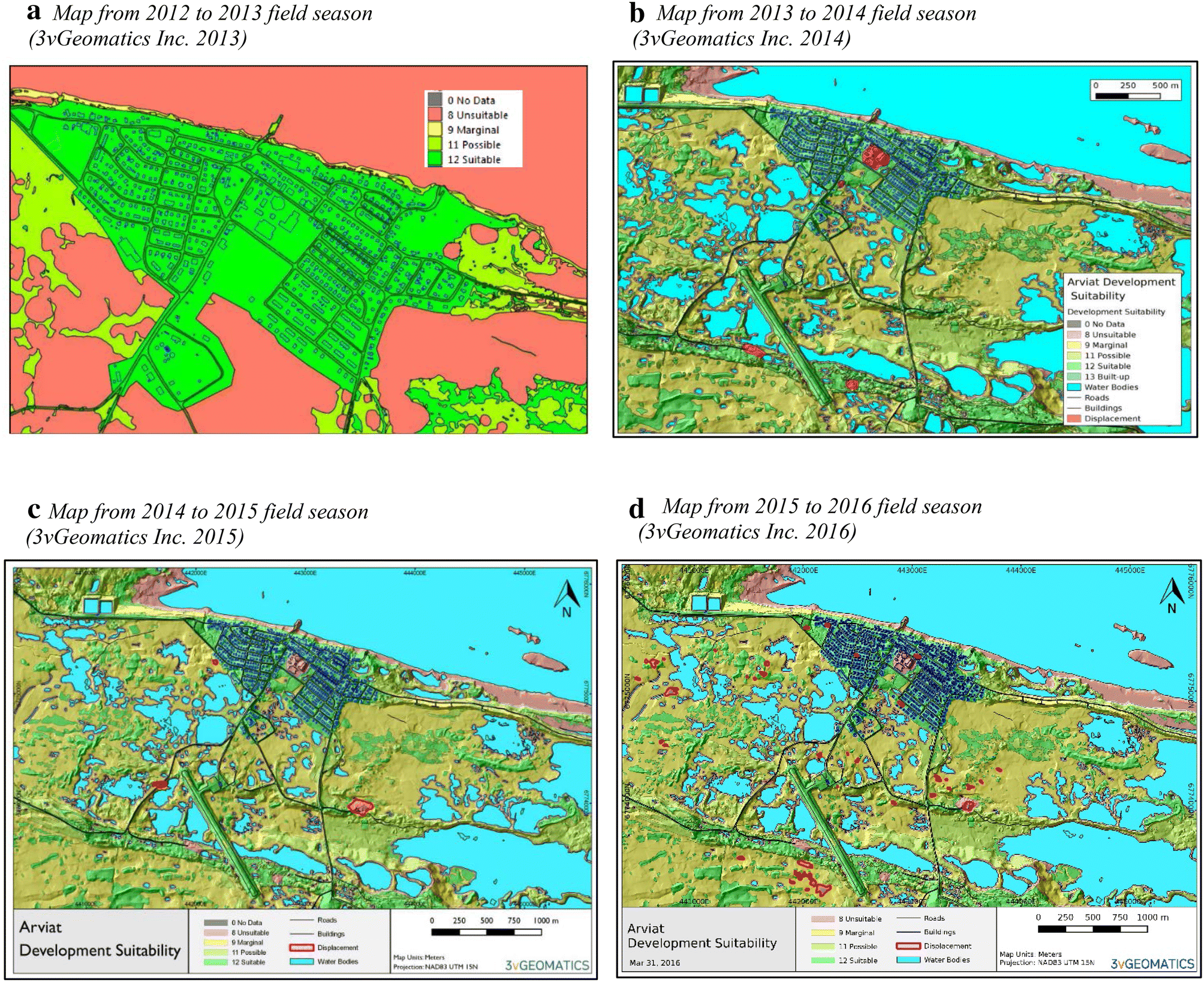 Evaluating the effectiveness of hazard mapping as climate