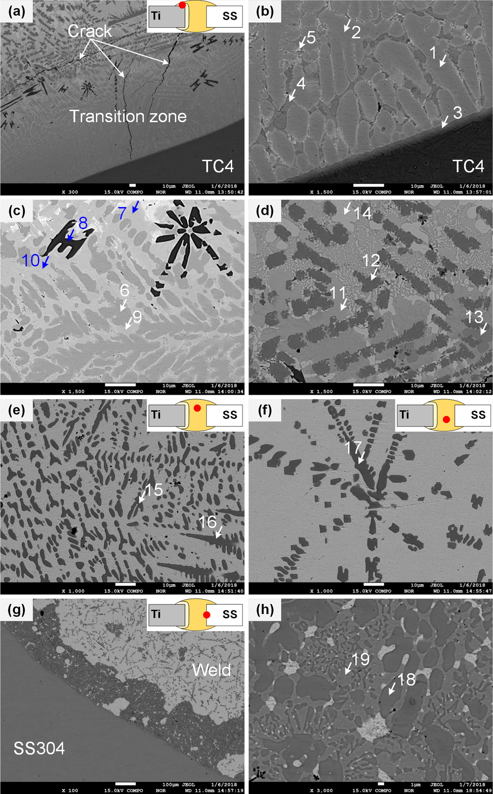 Microstructure and Mechanical Properties of Dissimilar TC4