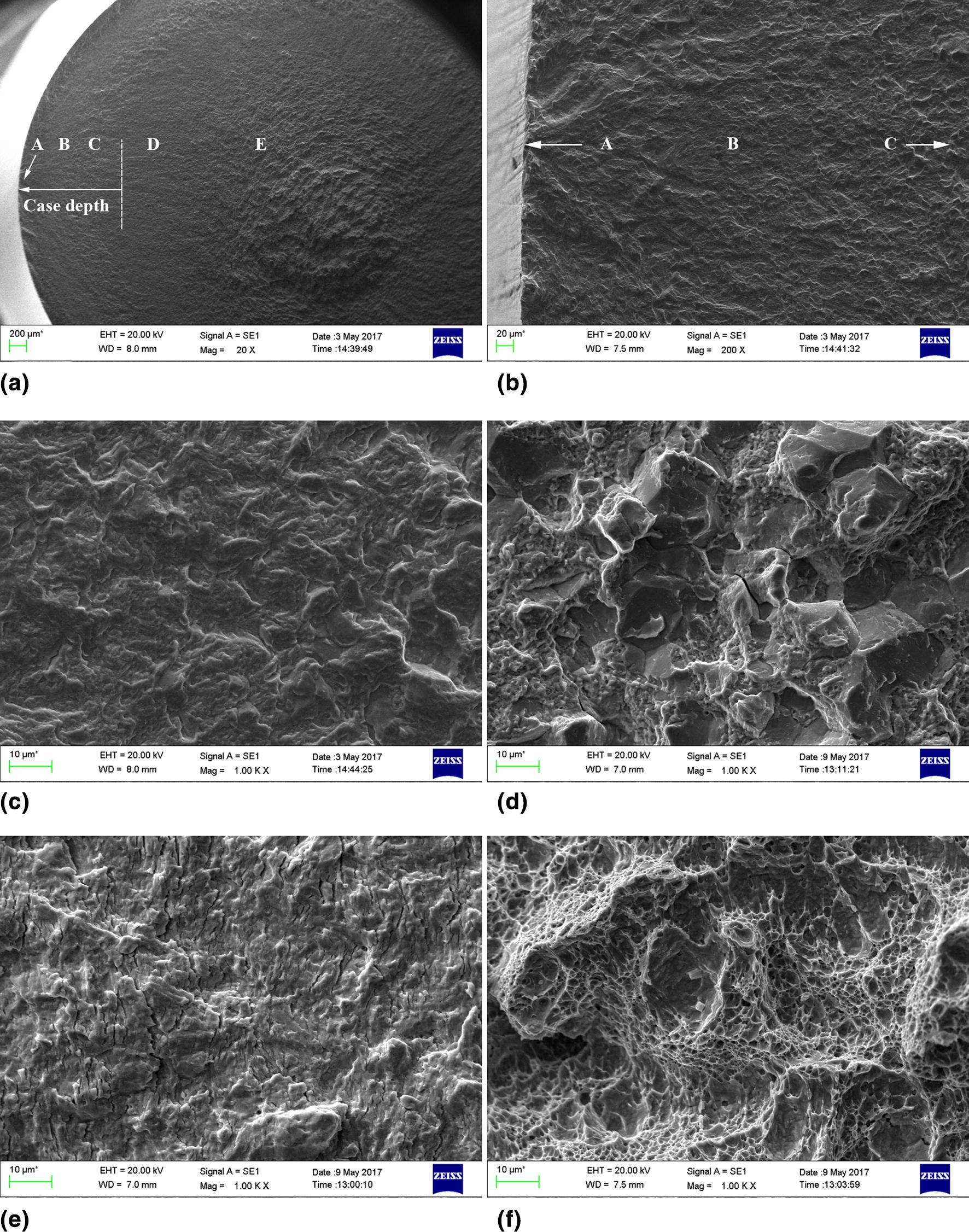 High-Cycle Fatigue Behavior of Vacuum-Carburized 20Cr2Ni4