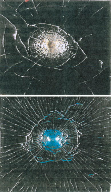 The Fractography and Crack Patterns of Broken Glass