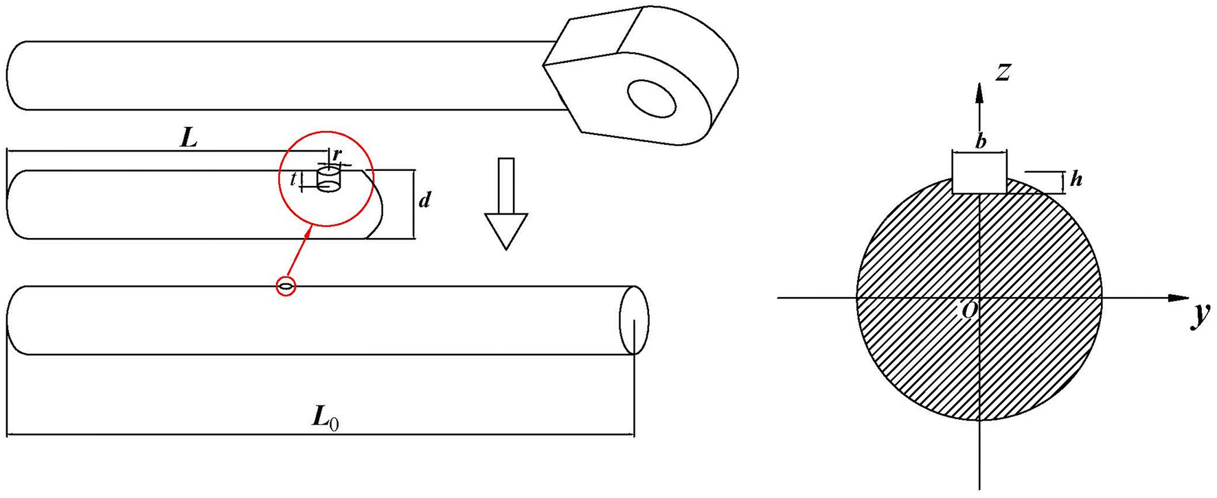 Buckling Failure Analysis of Hydraulic Cylinder Rod on the