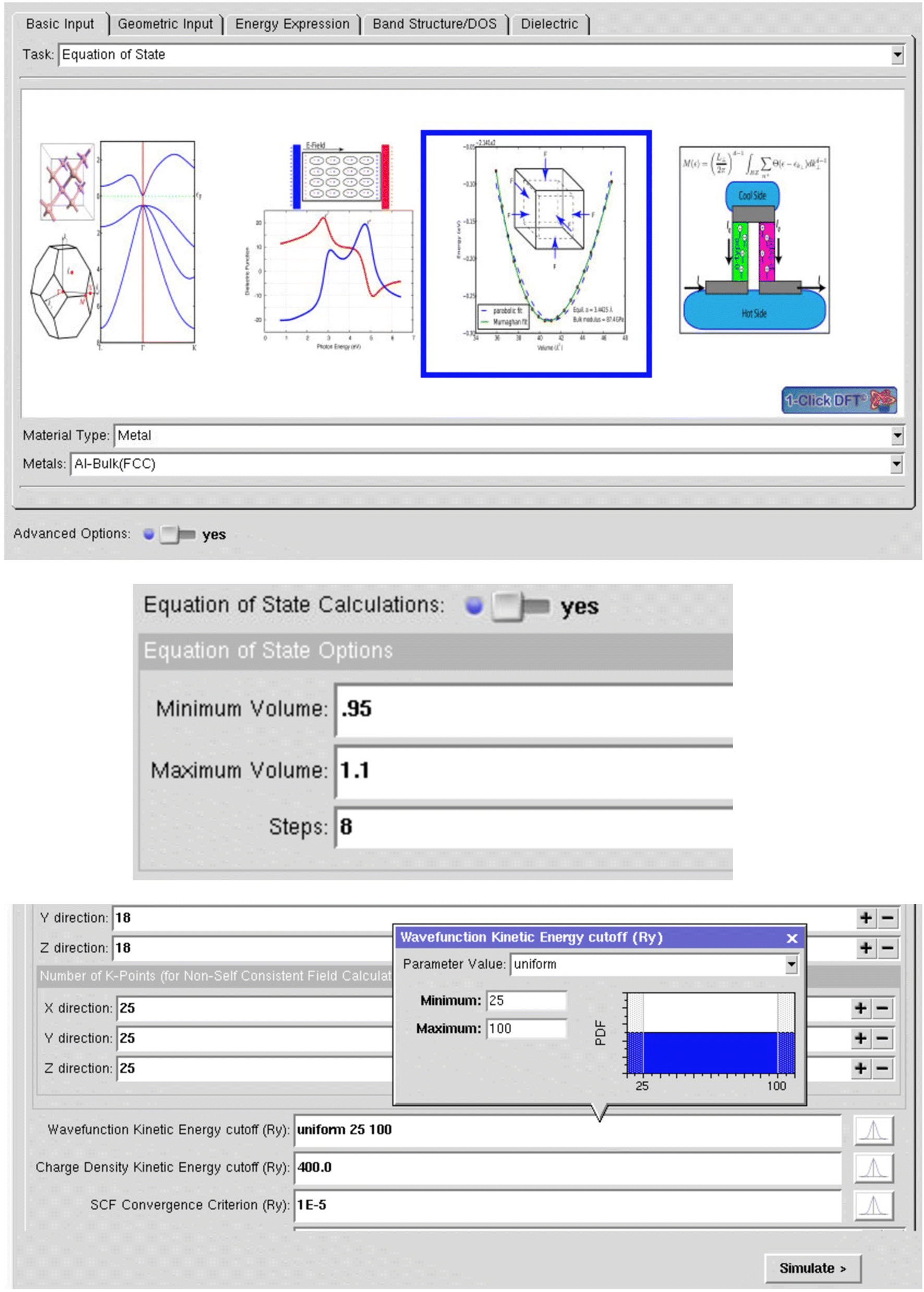 Online Tools for Uncertainty Quantification in nanoHUB