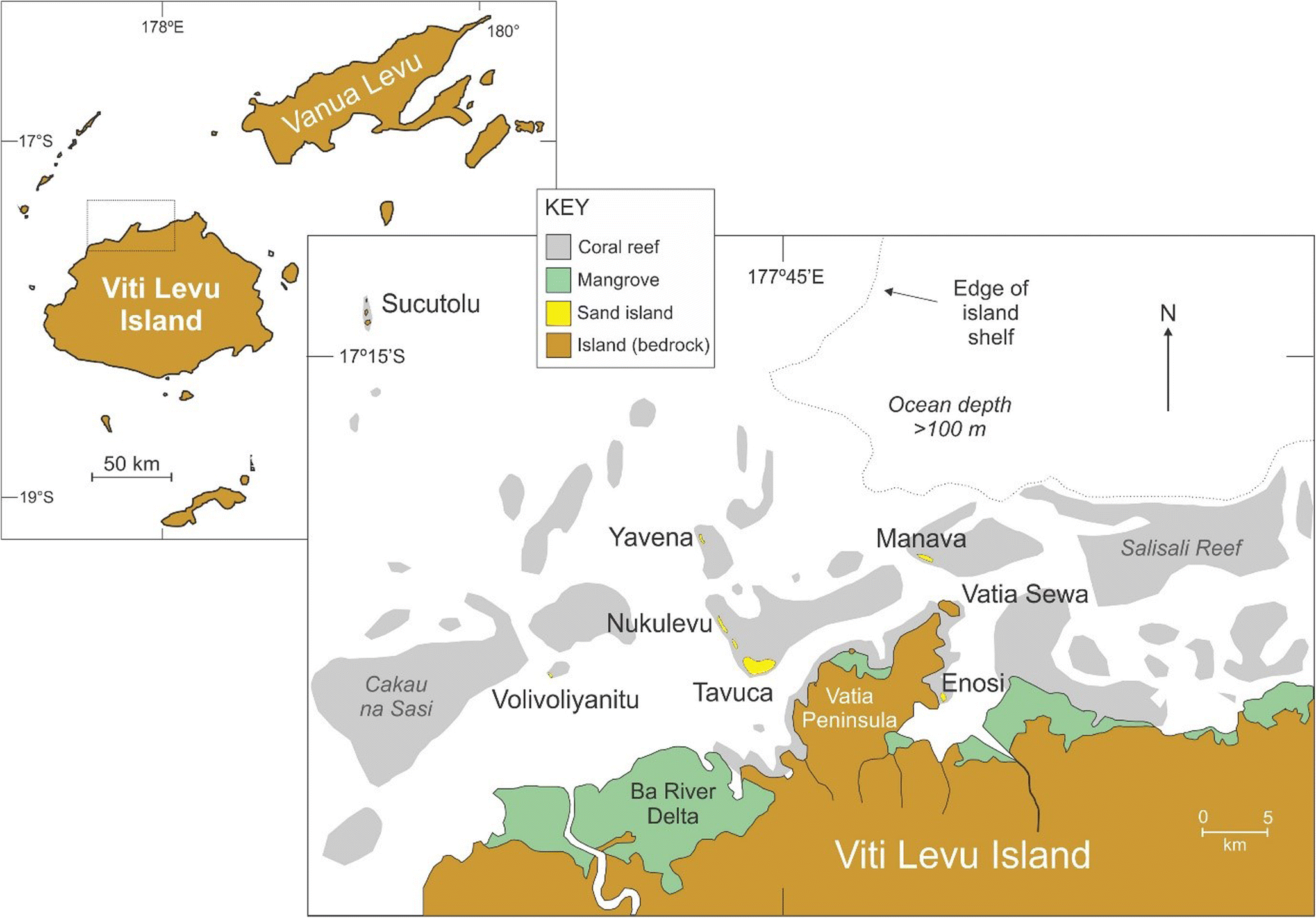 Origin, development and prospects of sand islands off the ... on