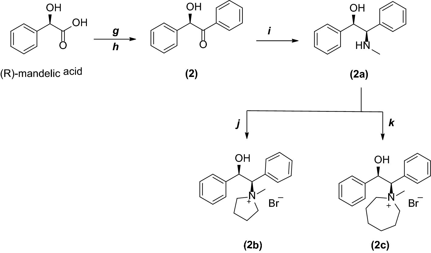 Synthesis of novel phase transfer catalysts derived from
