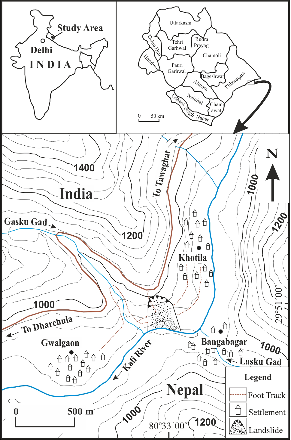 Geological and geotechnical characterisation of the Khotila